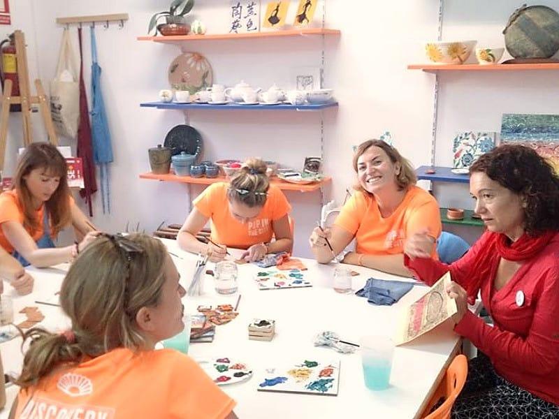 ceramic workshop seville